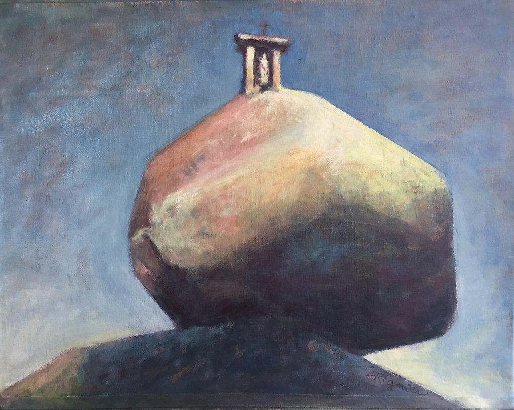 Vierge au rocher III